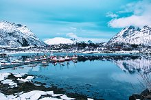 Winter Norway lake by  in Nature