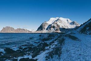 Winter Norway sea
