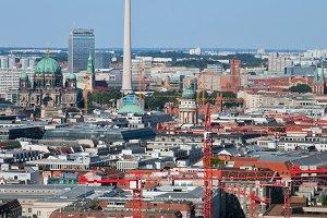 Berlin panorama - capital of Germany