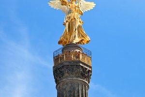 The Victory Column close up, Berlin