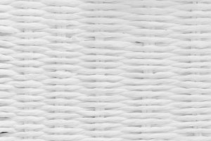 Wicker, wattle white natural pattern
