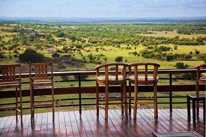 Savanna landscape Serengeti, Africa