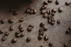 Spilled beans - warm