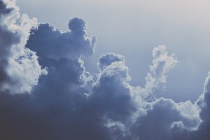 Vintage Cloudscapes #01