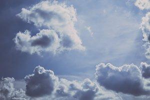 Vintage Cloudscapes #02
