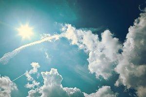 Vintage Cloudscapes #11