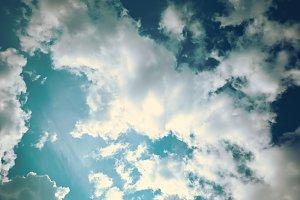 Vintage Cloudscapes #07