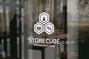 Store Cube Logo