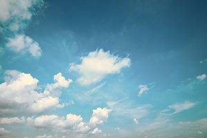 Vintage Cloudscapes #12