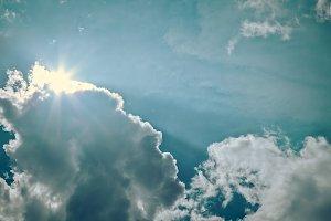 Vintage Cloudscapes #08