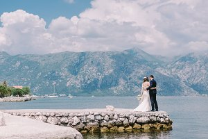 wedding couple travel