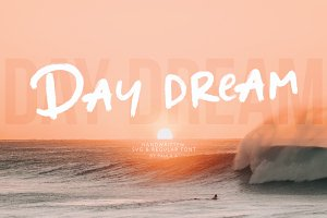 Day dream | Handwritten SVG Font