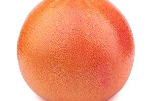 Grapefruit isolated on the white