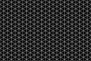 White isometric grid pattern