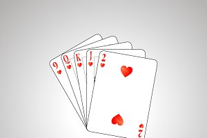 Flush poker combination