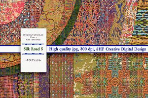 Silk Road 5: Exotic Painted Papers