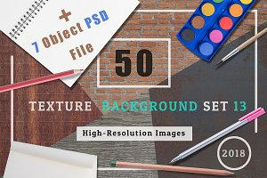 50 Texture Background Set 13