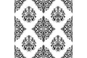 Orient Seamless Vector Pattern