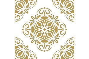 Damask Seamless Vector Pattern
