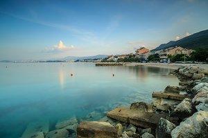 Adriatic sea view in Podstrana
