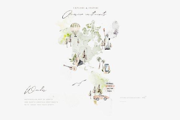 born to travel map creator illustrations creative daddy