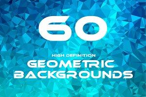 60 Geometric Backgrounds