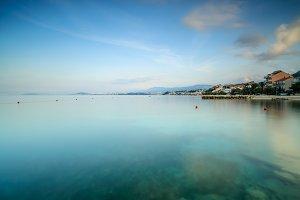 Adriatic sea view near Split