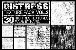Distress Texture Pack: Vol. 2