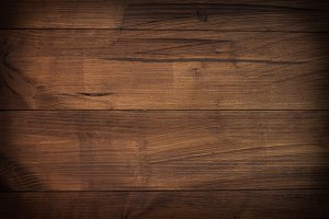 Dark brown wooden texture.