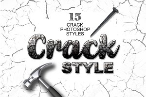 15 Crack Photoshop Layer Styles