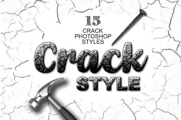 15 Crack Photoshop Layer Styles