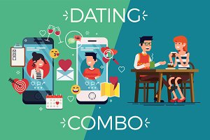 Dating App Visual + Coffee Date