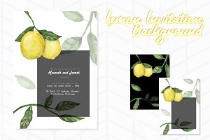 Lemon Invitation Background 1