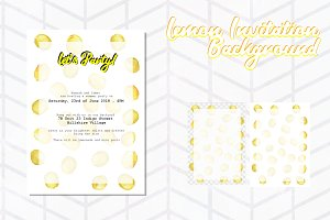 Lemon Invitation Background 3