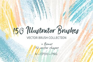 150 Illustrator Brushes