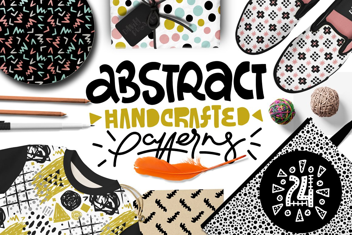 Abstract Handcrafted Patterns