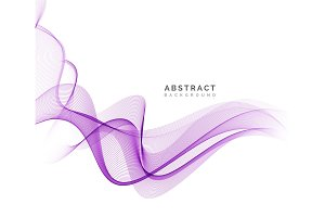 Abstract vector background, purple