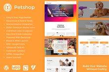 Petshop WordPress Theme