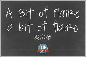 DJB A Bit of Flaire