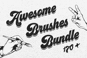 170+ Vector Brushes Big Bundle