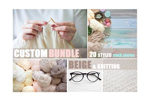 Custom bundle | Beige@knitting