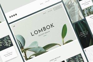 Lombok - Website Template