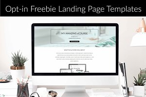 Opt-in Freebie Landing Pages