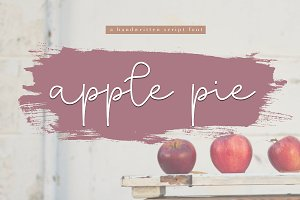 Apple Pie - Handwritten Script Font