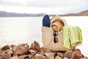 Lake Landscape And Beach Accessories