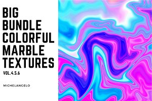 Big Bundle Marble Textures vol.4-6