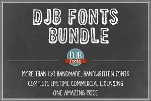 DJB Fonts Bundle - Lifetime License