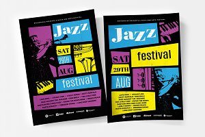 Jazz Flyer / Poster Templates