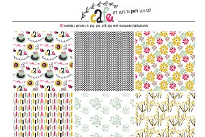 Café Seamless Patterns
