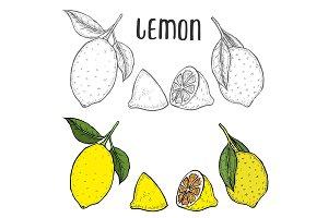 lime or lemon set.